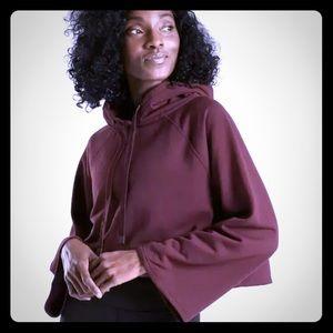 Athleta NWT steady state crop sweatshirt
